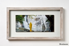 One Moment Yellow Silence by Brockmann Wood Design Petzinger 1